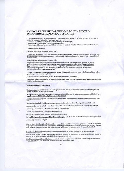 Attestation FFSE règl 2063